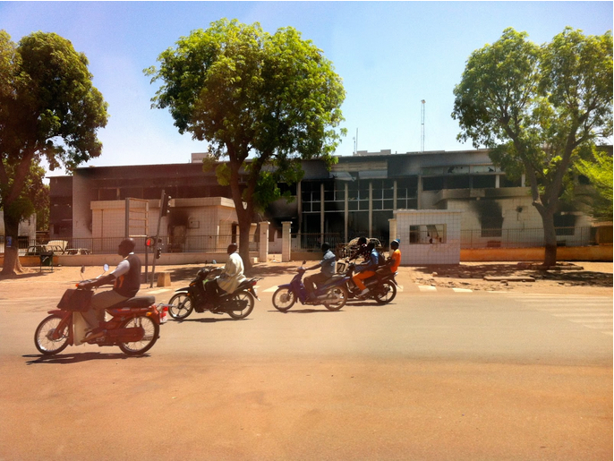 MotorcyclistsBurkina Faso