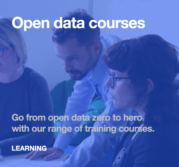 Learning: open data courses
