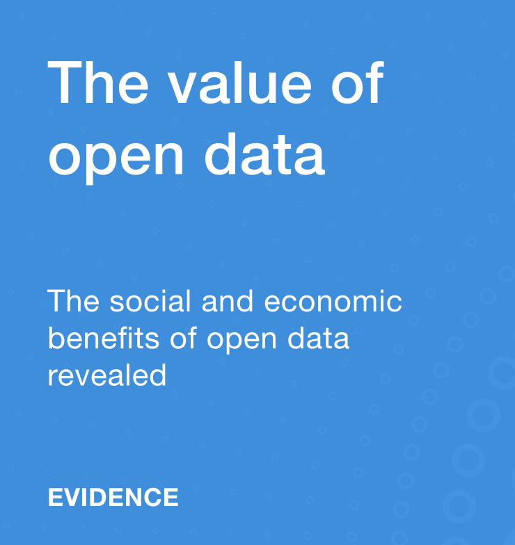 The value of open data (summit1)