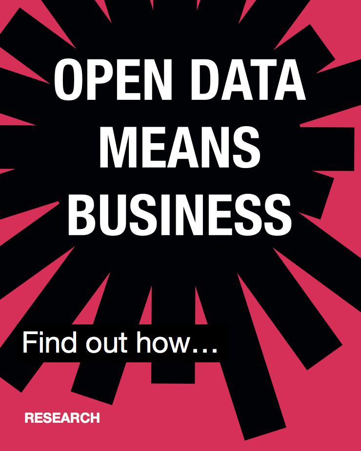 Open data means business