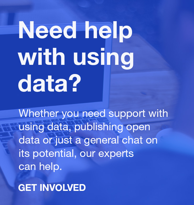 Get help with your open data