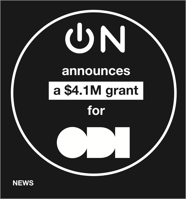 Omidyar network announces a $4.1M grant for ODI