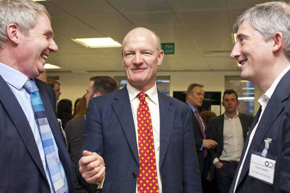 Nigel Shadbolt, David Willetts and Gavin Starks